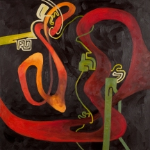 """Infinity"" Oil on canvas, 36"" x 36"""