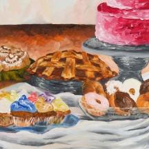 """Utopia"" Oil on canvas, 30"" x 26"""