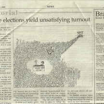Editorial Cartoonist, Bradley University, September 12, 2008