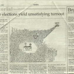 Editorial Cartoonist, Bradley University, September 12, 2008