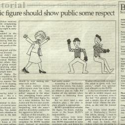 Editorial Cartoonist, Bradley University, September 26, 2008