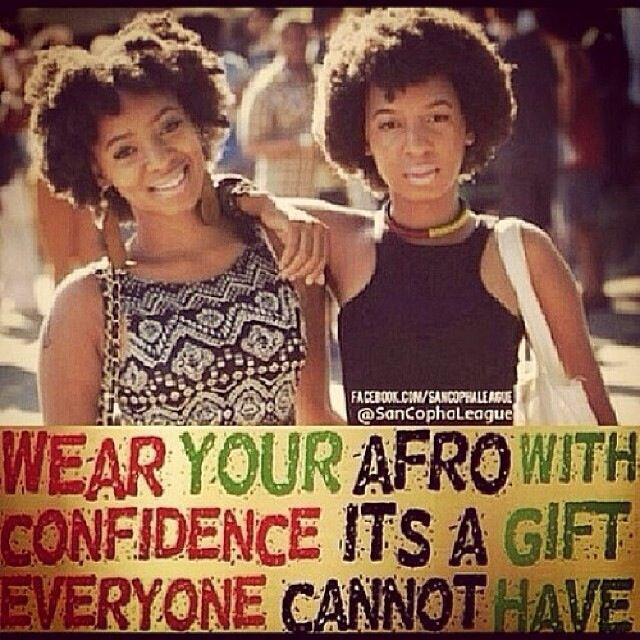 Embrace Your Fro with Confidence!!