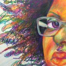 Self portrait detail