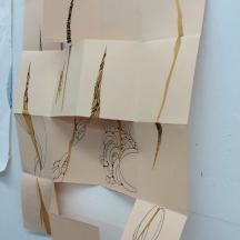 Folded book