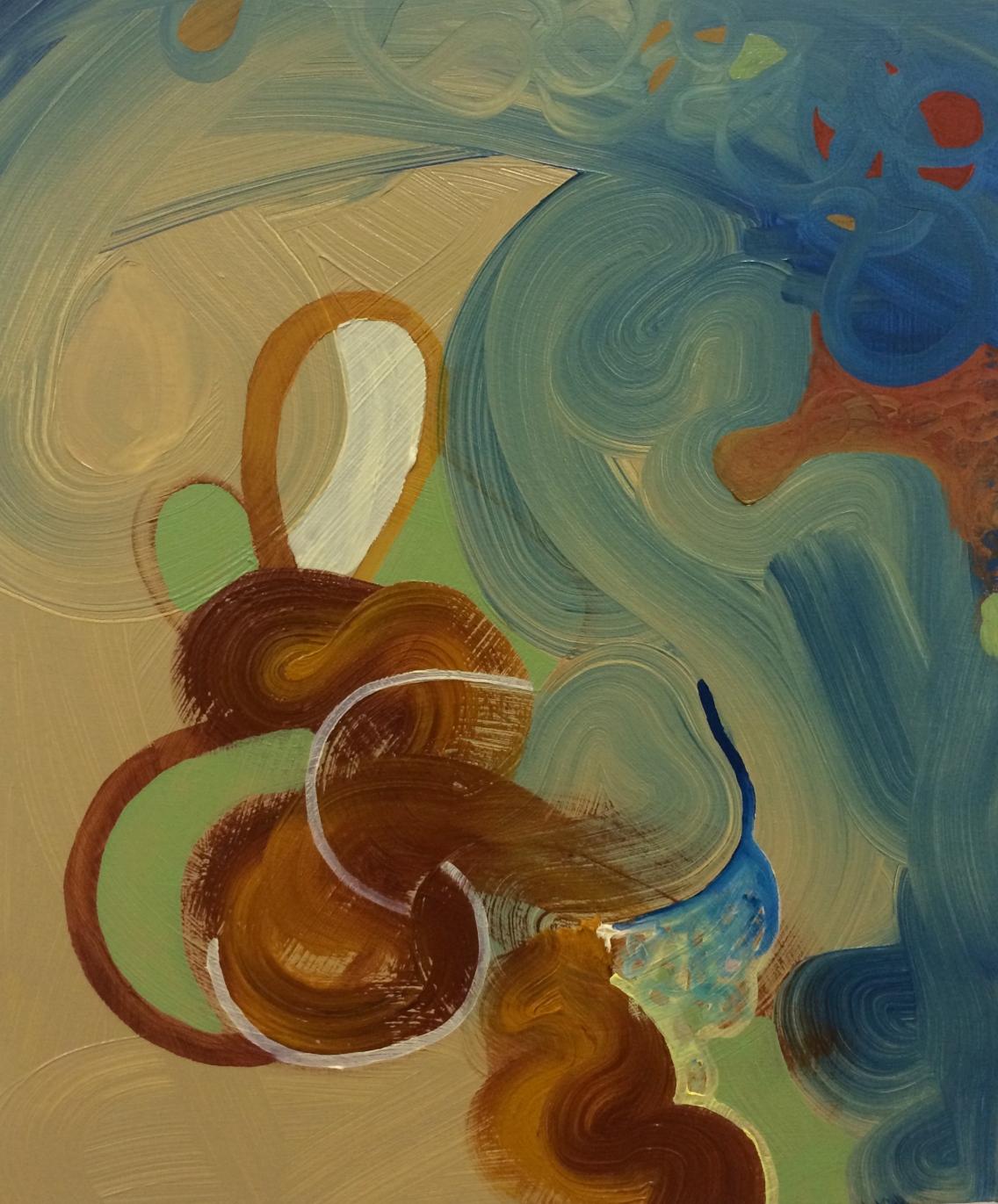 Oil paint on canvas 1.5 x 1.25 feet 2014