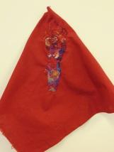 Hand-stitching on fabric 2014