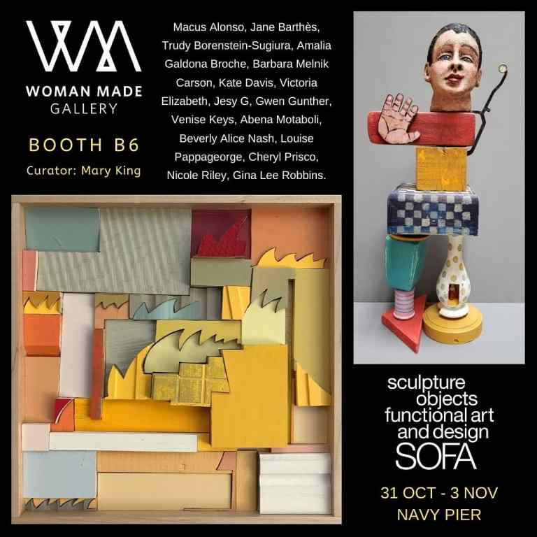 Woman Made Gallery at SOFA Expo 2019 Chicago
